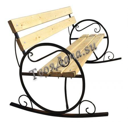 Купить скамейка Качалка на дачу