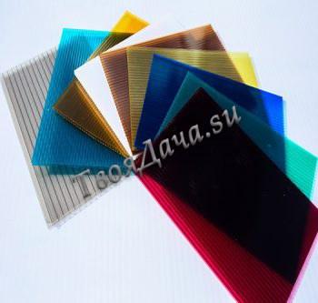 Купить цветной поликарбонат Sellex Комфорт